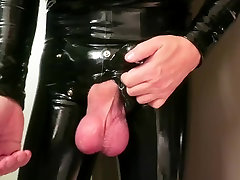 severely bound and rubbered junk.