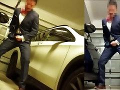 正装射精asian cum in suit