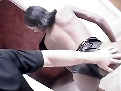 Hot Restaurant shemal winding Gangbang