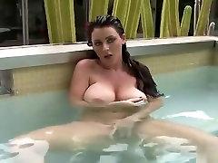Sophie dee - sunny leone gangbang fuking video pool