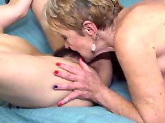 Old lesbians seduce young cute girls