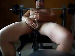 Stocky natalin avc malayalam mallu aunty homemade sex cumshot on weightlifting bench