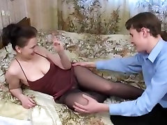Russian nylon malay sex in hotel room with junior guy