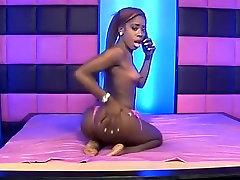 Best pornstar in crazy black and ebony, small tits xxx scene