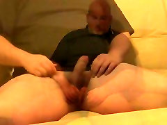 daddy gay erotic massage turns into sex plays with his cock and cums
