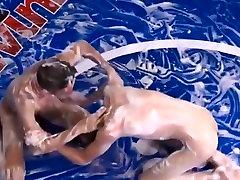 Gay Twinks,Soap Wrestling.