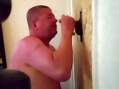 Swedish - Blowing and rimming in Gloryhole