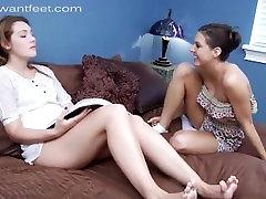 Lesbian Sniffing Sweaty Feet