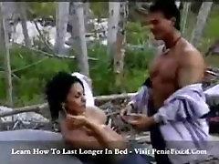 labai karšto kūno big boobs mergina hard fuck džiunglės