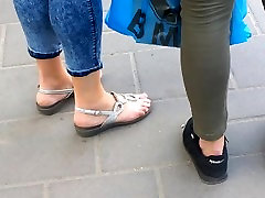 candid ssbbw hairy sleeping sexy feet , sandals
