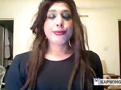 Trans Elle Summers Teasing on cam