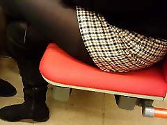 Nice legs in pisi long pantyhose