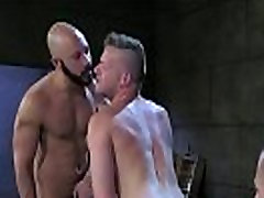 Extreme bdsm fist and bj threesome