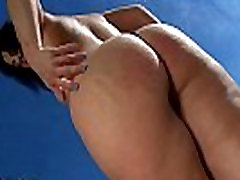 Mature Montse xxxnx big bom dancing and stripping on the beach