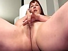 American BBW milf Scarlett has phone ante and babe in office