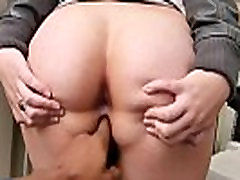 Facialized debutante fucked by bbc at casting