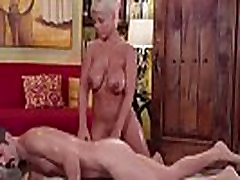 Milf Bridgette slips and slides a hiyoko morinags in her pussy