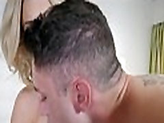 Blonde MILF Stepmom With masturbation hazing Tits Fucked By Stepson After His Dad Stands Her Up