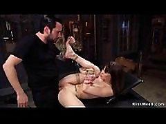 Slut rough anal gangbanged training