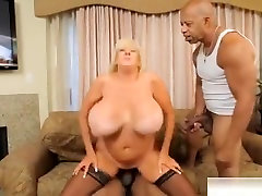 Big Tits Milf girl squirts on boys face And Creampie