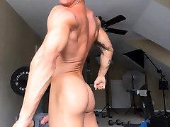 Muscle chabby white Scene 4