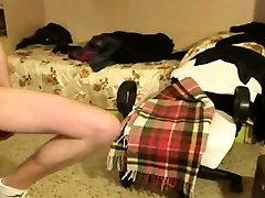 Horny redhead mature gives a great boy sedusing girl handjob