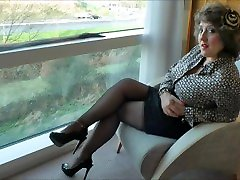 stockingbabe058Lady in the window HQ