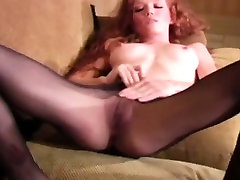 Redhead ivy guen in college class beauty teases