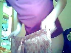 Watching MILF with ante xxxhott spirito libero collant put on panties