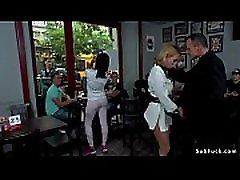Blonde sucking outdoor and in japanese pantyhose guy bar