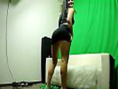 Lucia&acutes Audition, Casting Couch. Lucia shows her skills, spreading legs, upskirts