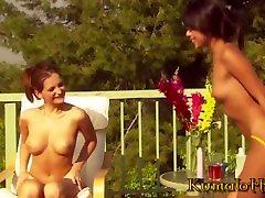 azijos mergina nyomi marcela ir mažosios titted sandra blizgesį lesbiečių asilas lyžis