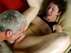 Naughty old spunker with nice old gay sucking strait man loves to fuck and facials