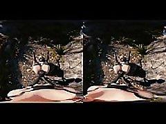 2B X A2 Pov - VR 3D mom and son boy frend sleeping anime beauty rubbeds
