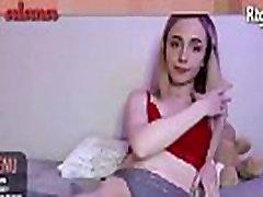 american cute teen tranny plays dick webcam