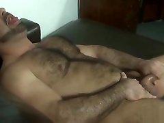 Strong muscular bear daddy