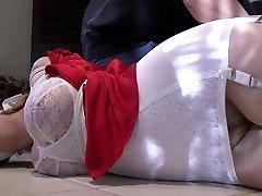 Lauren Phillips bound and gagged