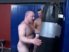 Muscle hiding out wrestling