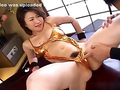 Kokoro Miyauchi Busty Has Twat And Ass Fucked With Sex Toys