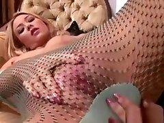 Hot anal slut liza del sierra Pantyhose Fingering
