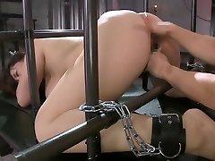 Fabulous Japanese model in Crazy BDSM, HD JAV scene