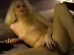 Homemade Sexy Striptease Of 80s Whore