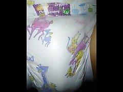 Piss in drypers diaper