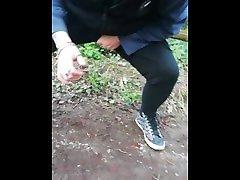 Mrs having a piss in amateur english bbw granny at 14 locks, Newport, south wales