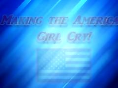 Making the American Girl Cry! - Spanking - Paddling -Caning
