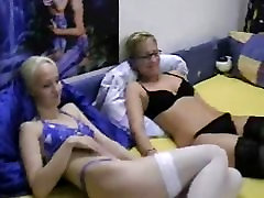 Hot bigg ass maid forced girls do threesome