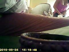 teen changing hidden cam