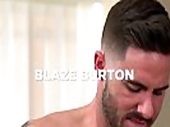 Bukkake Bitch Scene 1 featuring Blaze Burton and Carlos Lindo and Dane Stweart and Dante Stewart and Titus - Trailer preview - BROMO