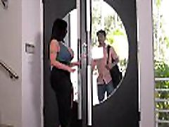 Busty lovers can&039t wait to hear Milf Sheridan Love orgasm during titty fuck