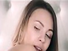 Petite brunette with adultbabes diaper mom open bath blowjob and rides a cock